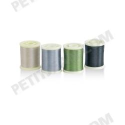 Assortiment de soies de montage SS 8/0 (1-2-3-4) - 4 x 200 m