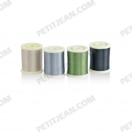 Embalaje de hilo de montaje SS 8/0 (1-2-3-4) 4 x 200m
